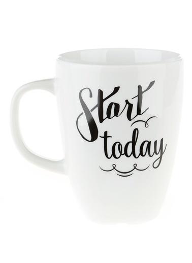 Morhipo Home Start Today - Çift Taraflı Kupa Beyaz